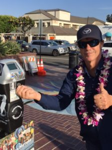 Wyland at Kindness Meter