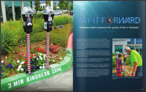 Kindness Meters Article in Carlsbad Magazine